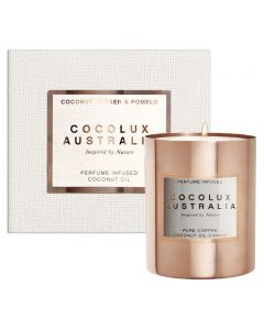 Coconut Ginger and Pomelo Copper Candle - 350g