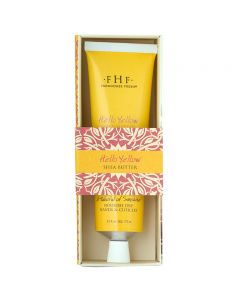 Hello! Yellow Shea Butter Hand Cream  - Tube 74ml